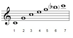 harmonic series of the trumpet