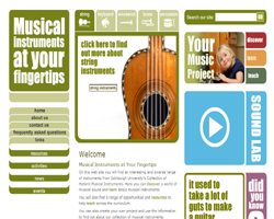 musical instruments at your fingertips