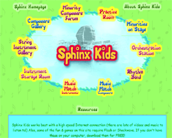 sphinxkids - interactive music education
